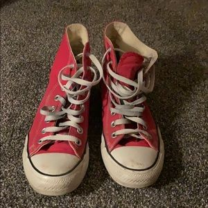 Used Red Chuck taylors